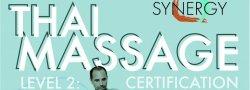 Thai Massage Level 2 Certification- Synergy Training