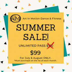 SUMMER SALE 30 Day Unlimited Pass