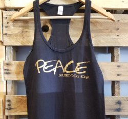 SDY Ladies Peace Racerback (MEDIUM)