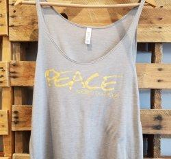 SDY Ladies Peace Tank/Tee (LARGE)