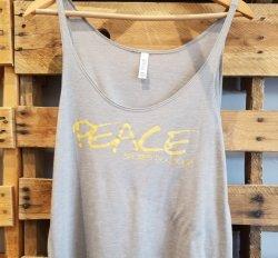 SDY Ladies Peace Tank/Tee (MEDIUM)