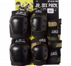 187 (Jr.) Six Pack - Camo