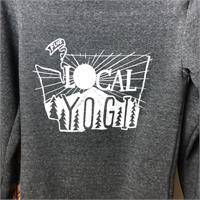 Hoodie - Unisex - Local Yogi (Heather Black)