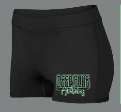 Shorts - Black Deep Blue Athletics 2021