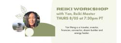Reiki Workshop with Yan