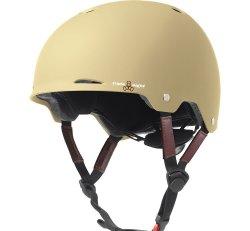 (XS) T8 Gotham Helmet Cream Matte Rubber