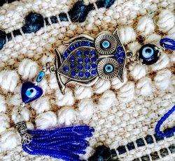 Hanging Evil Eye- Owl
