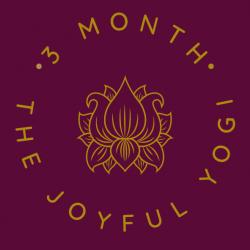 The Joyful Yogi 3 Month