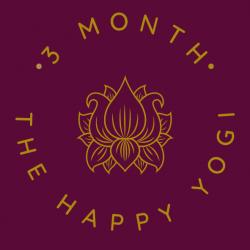 The Happy Yogi 3 Month