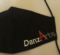 Child Ages 8-11 Years Old~Custom Made DanzArts COVID-19 Mask with Respirator-Many Color Options