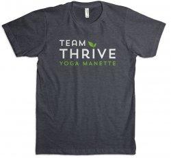 Navy Team Thrive T-Shirt