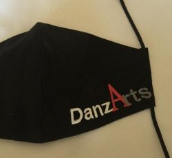 Adult Small~Custom Made DanzArts COVID-19 Mask with Respirator-Many Color Options