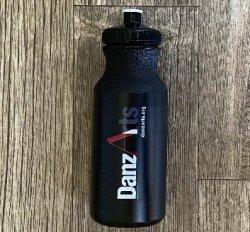 Black Reusable Water Bottles with Logo!