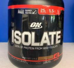 ON Isolate Whey - Chocolate - 3lb.