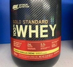 ON Gold Standard Whey - French Vanilla 2lb.