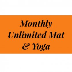 Monthly Bronze Mat, Barre & Yoga Membership NO CONTRACTS