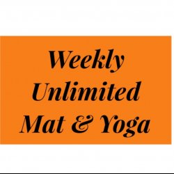 Weekly Bronze Mat, Barre & Yoga  Membership Weekly Payment Plan  NO CONTRACTS
