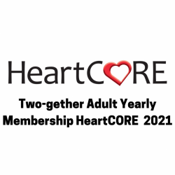 TWO-gether Adult Yearly HeartCORE Membership 2021