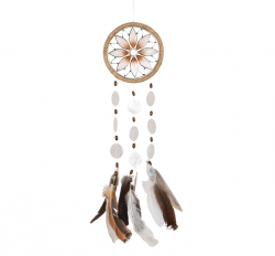 Wind Chime - Sun Flower Capiz Dream Catcher