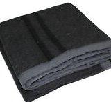 Yoga Blanket Grey Cotton
