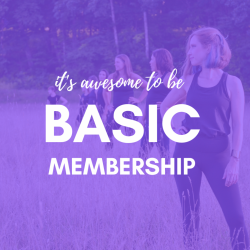 Monthly *It's Awesome to be Basic* Membership