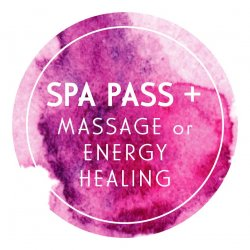 The Spa Pass + Massage or Energy Healing Session