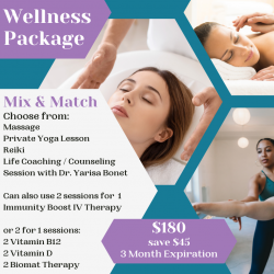 Wellness Package - 3 Sessions