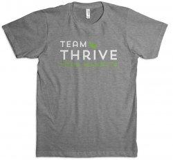 Gray Team Thrive T-Shirt