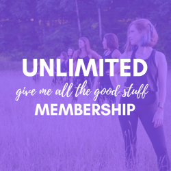 Monthly *Give me all the Good Stuff* Unlimited Membership
