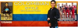Colombian Style Solo Footwork lev 1.5 - 6 wks/ 1 hr per