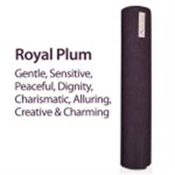 "Aurorae Yoga Mat, 72""x24""x1/4"" (assorted colors) (Royal Plum)"