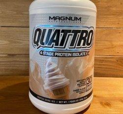 Magnum Quattro 4 Stage Protein Powder 910g