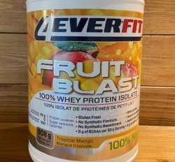 4 Ever Fit Fruit Blast Protein Isolate 908g