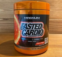 Magnum Fasted Cardio Thermogenic Pre-workout Drink Mix 158g