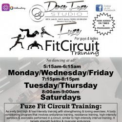 Silver Package Fuze Fit Circuit Training