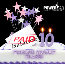 PAY IN FULL   Up to 10 Person Private Group Class