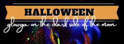 Halloween Glowga on the Dark Side of the Moon