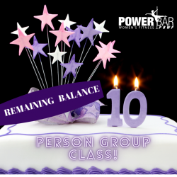 Remaining Balance | 10 Person Deposit Private Group Class