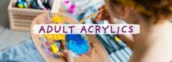 Adult Acrylics (In Studio)