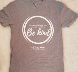Be Kind T-Shirt - Gray (XS or XXL only)