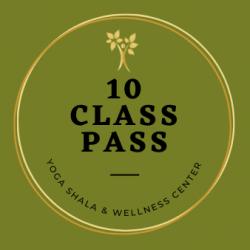 NEW! 10 Class Pass