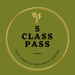 NEW! 5 Class Pass