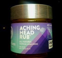 Aching Head Rub 1oz