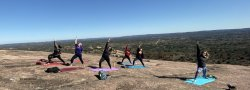 Yogadventure: Paint and Flow at Enchanted Rock