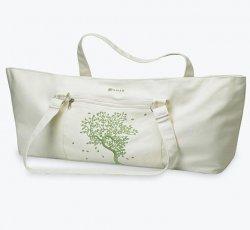 Tree of Life Yoga Mat Tote Bag (Cream)