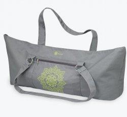 Citron Sundial Yoga Mat Tote Bag (Grey)
