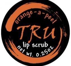 Tru Apothecary Orange With A Peel - Lip Scrub