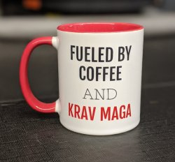 BLACK FRIDAY SALE Mug (Coffee & Krav)