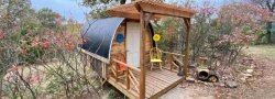 Spring Big Om Yoga Retreat (Glamping Hut)