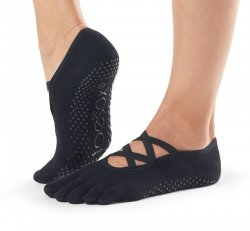 Full Toe Grip - Elle- Black